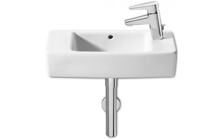 ROCA HALL umývátko 500x250mm s otvorem, s instalační sadou, bílá 7325883000