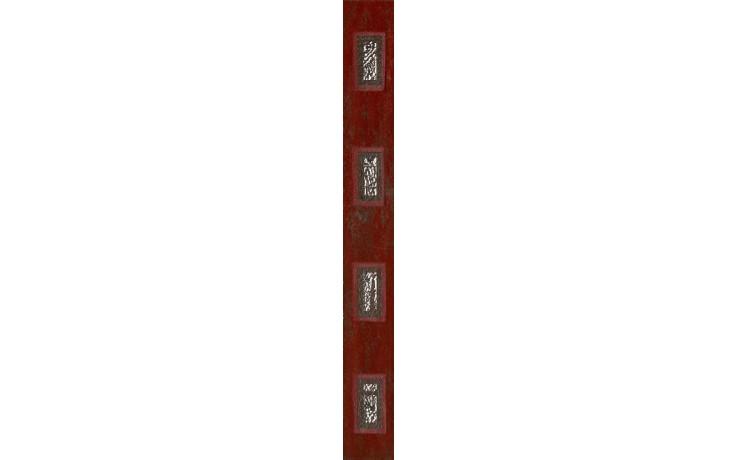 IMOLA ANDRA listela 4,5x40cm red, L.TANT R