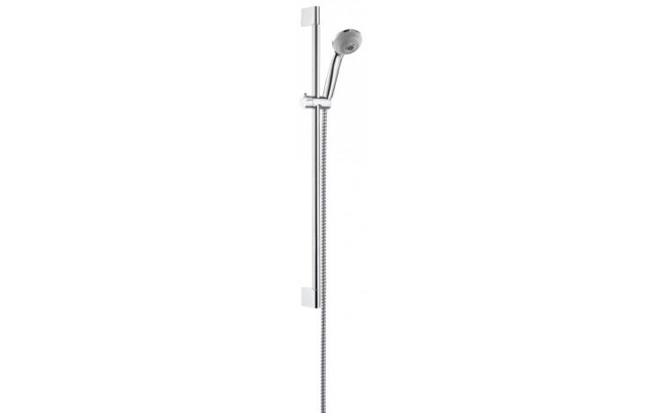 HANSGROHE sada ruční sprcha Crometta 85 Multi/nástěnná tyč Unica'Crometta chrom 27767000