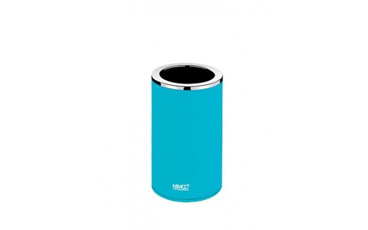 Doplněk sklenička Nimco Pure pohárek na kartáčky  modrá