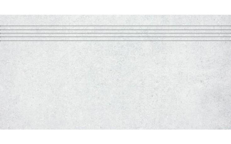 RAKO CEMENTO schodovka 30x60cm světle šedá DCPSE660