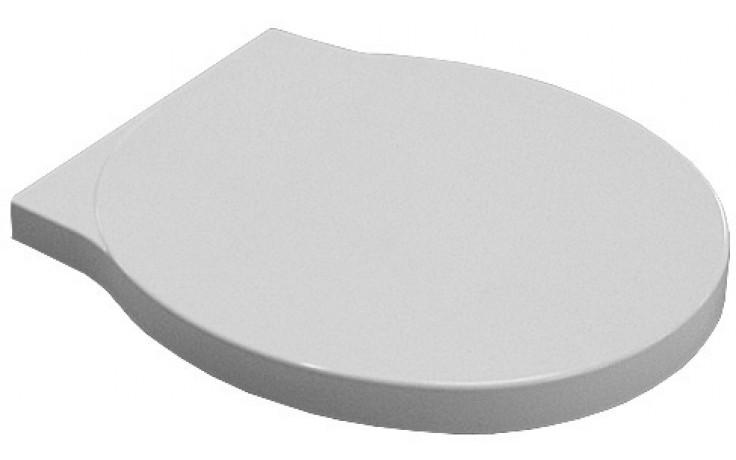 Sedátko WC Kolo duraplastové s kov. panty Varius s automatickým pozvolným sklápěním  bílá