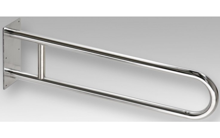 GOZ METAL REHA podpěrné madlo 900x100x250mm, tvar U, nerez brus