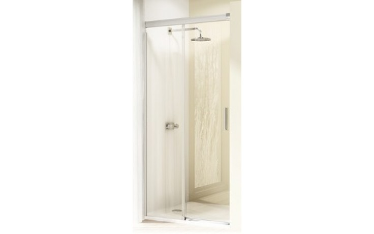 Zástěna sprchová dveře Huppe sklo Design elegance 1100x2000mm stříbrná matná/čiré