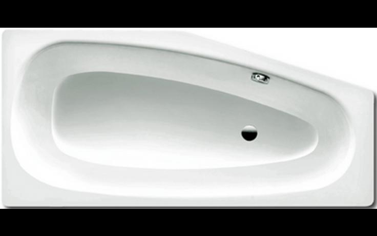 KALDEWEI MINI 836 vana 1570x700x430mm, levá, ocelová, asymetrická, bílá