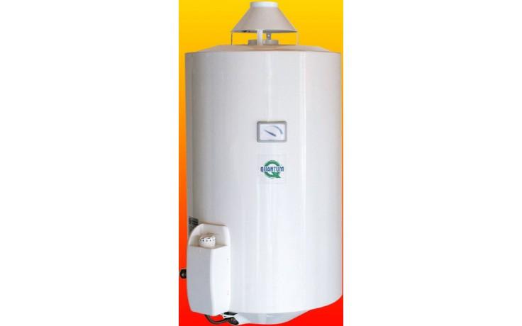 QUANTUM Q7 30 KMZ/E plynový ohřívač 115l, 4,4kW, zásobníkový, závěsný, do komína, bílá