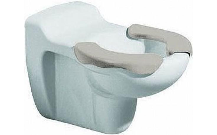 KERAMAG KIND dětský klozet 33x53,5cm, závěsný, s hlubokým splachováním, 6l, sedací plocha, bílá/šedá 201715000