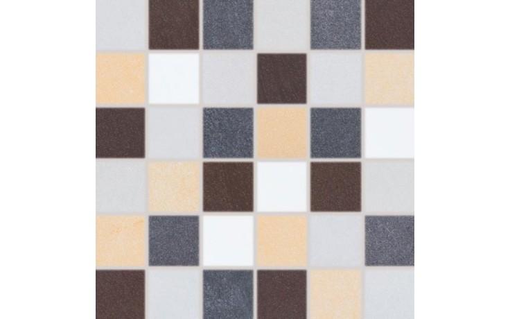 RAKO SANDSTONE PLUS mozaika 5x5cm vícebarevná DDM06275
