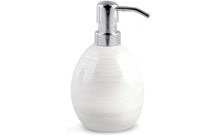 AWD INTERIOR PERLA dávkovač tekutého mýdla 460ml bílá/perleť AWD02190990