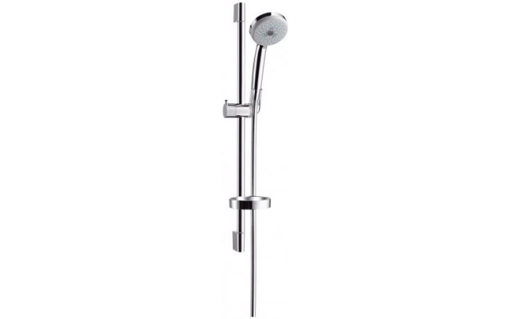 HANSGROHE sada ruční sprcha Croma 100 Multi EcoSmart/nástěnná tyč Unica'C chrom 27777000