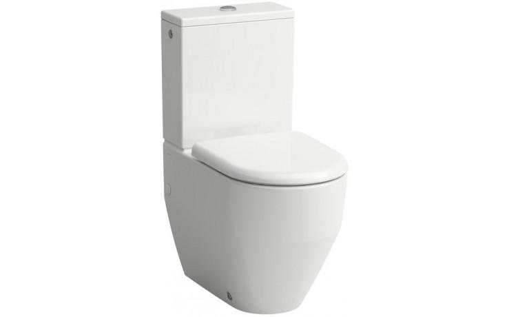 LAUFEN PRO stojící kombinační mísa 360x650mm hluboké splachování, VARIO odpad, bílá