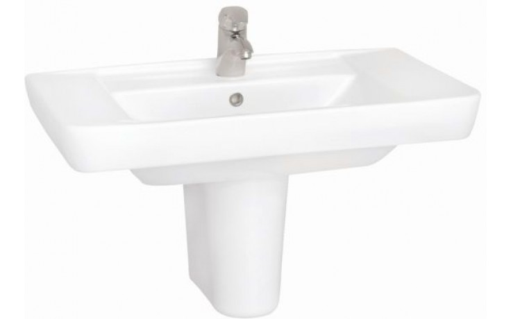 CONCEPT 100 STYLE nábytkové umyvadlo 805x485mm s otvorem, bílá alpin 5279L003-1121