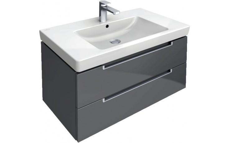 VILLEROY & BOCH SUBWAY 2.0 spodní skříňka 787x449x420mm dub, grafitově šedý A68900FQ