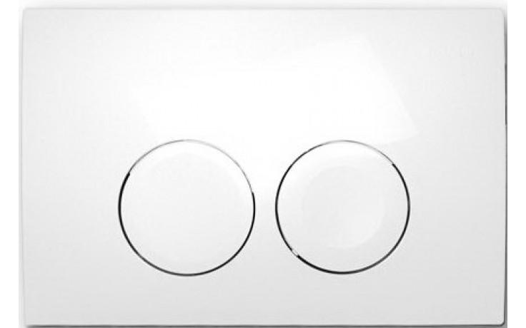 GEBERIT DELTA 21 ovládací tlačítko 24,6x16,4cm, Alpská bílá 115.125.11.1