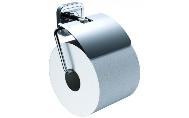 CONCEPT 100 držák toaletního papíru 132x108x63mm s krytem, chrom