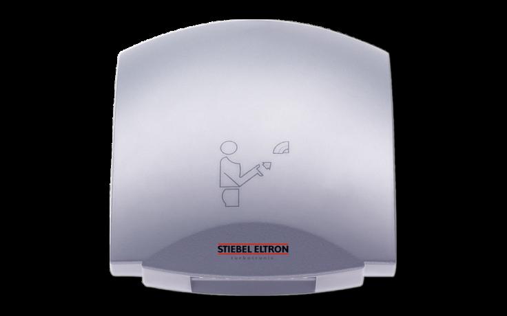 STIEBEL ELTRON HTT 5 SM TURBOTRONIC osoušeč rukou 2600W bezdotykový, stříbrná metalíza 182053