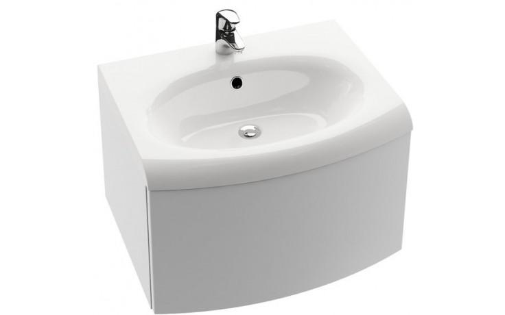 RAVAK EVOLUTION SDS skříňka pod umyvadlo 700x470x550mm se zásuvkou a systémem push/pull, bílá/bílá X000000365