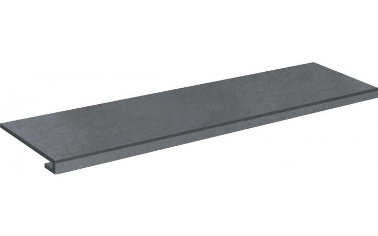 IMOLA MICRON 2.0 schodovka 120x32,5cm, dark grey