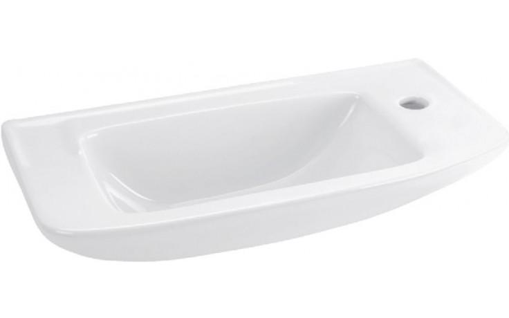 IDEAL STANDARD EUROVIT umývátko 500x235mm s otvorem vpravo bílá R421901