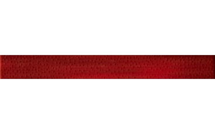 IMOLA HALL listela 4,5x40cm red, L.DEW R MIX