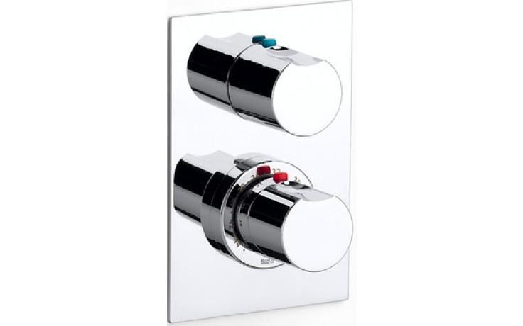 ROCA MOAI vrchní sada sprchové termostatické podomítkové  baterie, chrom 75A2946C00