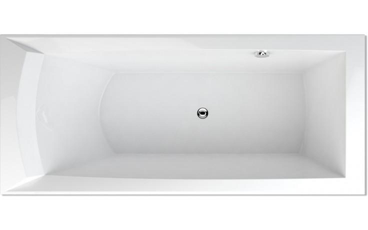 TEIKO PORTA 170 L vana 170x76x50cm, obdélník, akrylát, bílá
