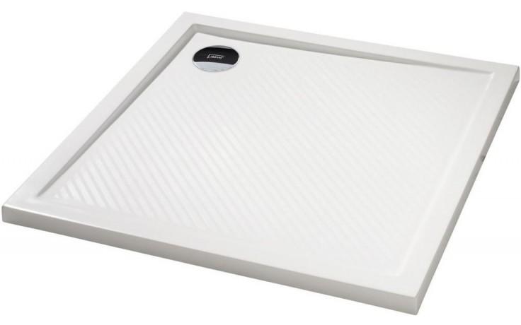 HÜPPE PURANO vanička 800x800mm, čtverec, litý mramor, bílá
