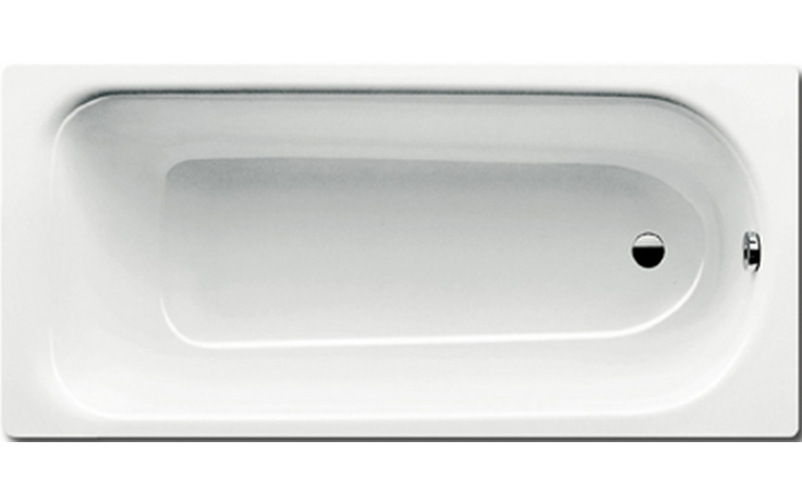 KALDEWEI SANIFORM PLUS 363-1 vana 1700x700x410mm, ocelová, obdélníková, bílá, celoplošný Antislip