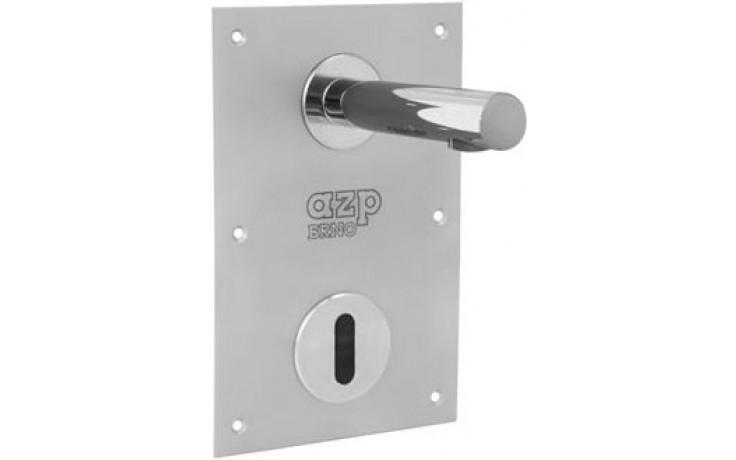 """AZP BRNO AUM 15.K2 umyvadlová baterie G1/2"""", nástěnná, automatická, nerez"""