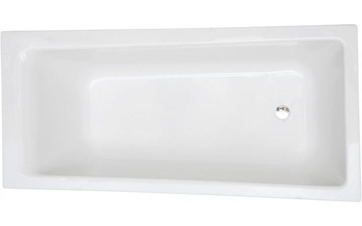 CONCEPT 100 vana asymetrická 1700x750-850mm akrylátová, se sprchovou zónou, pravá, bílá 55440001000