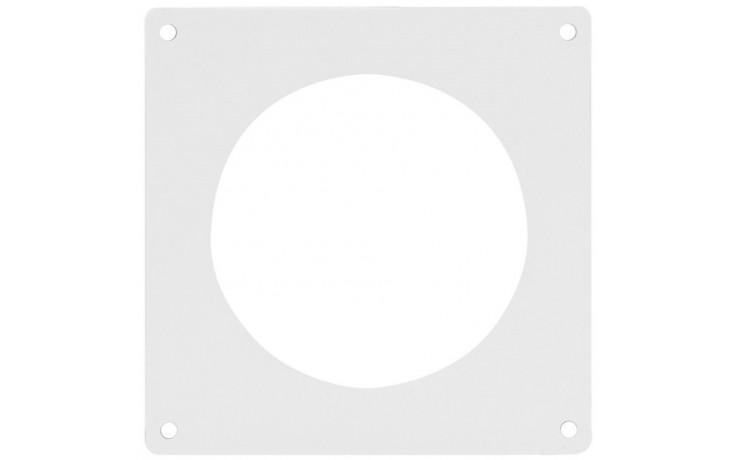 HACO UKO 100 ventilační systém prům.100mm, příruba nástěnná, bílá