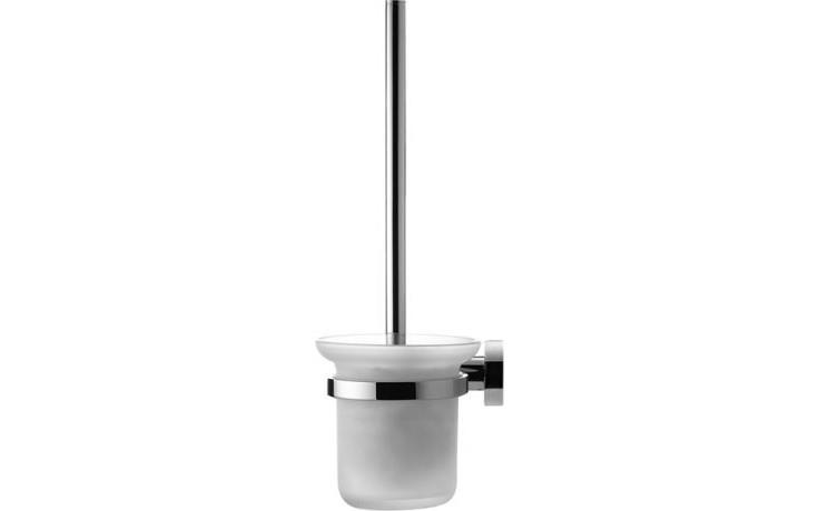 DURAVIT D-CODE kartáčová WC souprava chrom 0099271000