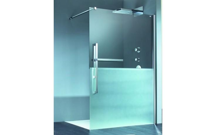 Zástěna sprchová dveře Huppe sklo Manufaktur Duplo upev. vpravo 1200x2000mm chrom/čiré+Sand AP