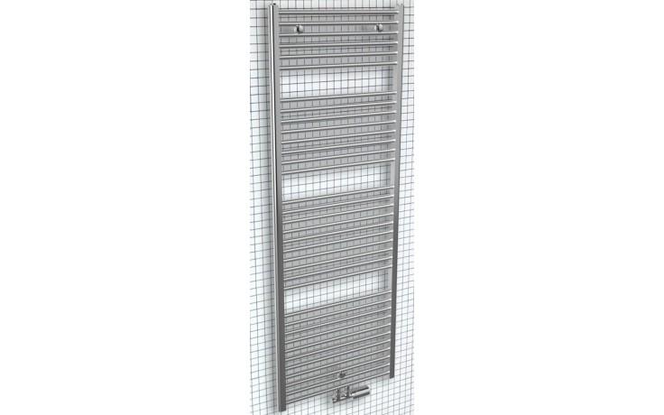CONCEPT 200 TUBE radiátor koupelnový 438W designový, středové připojení, chrom