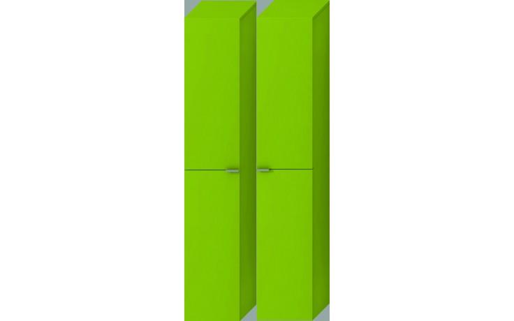 Nábytek skříňka Jika Tigo vysoká 162x30x27 cm zelená