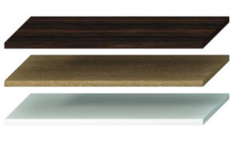 JIKA CUBITO-N umyvadlová deska 1281-1600x467x36mm bez otvoru, bez podpěr, bílá