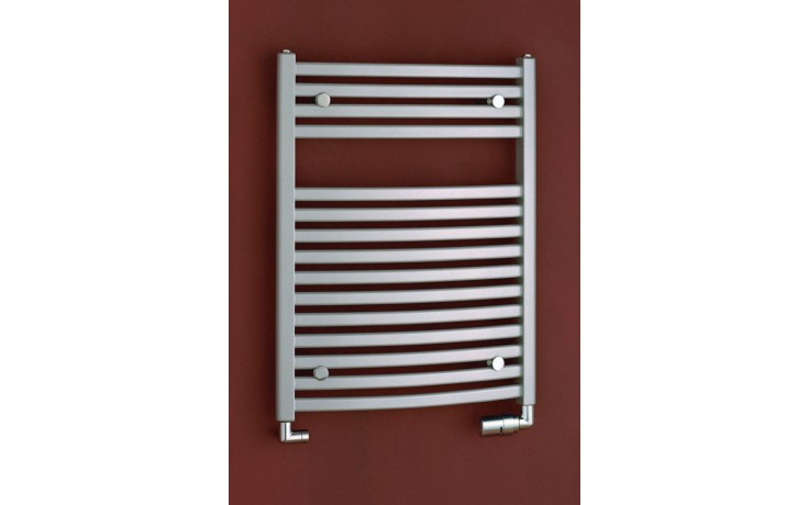 Radiátor koupelnový PMH Marabu 450/783 541 W (75/65C) metalická stříbrná 29/70587