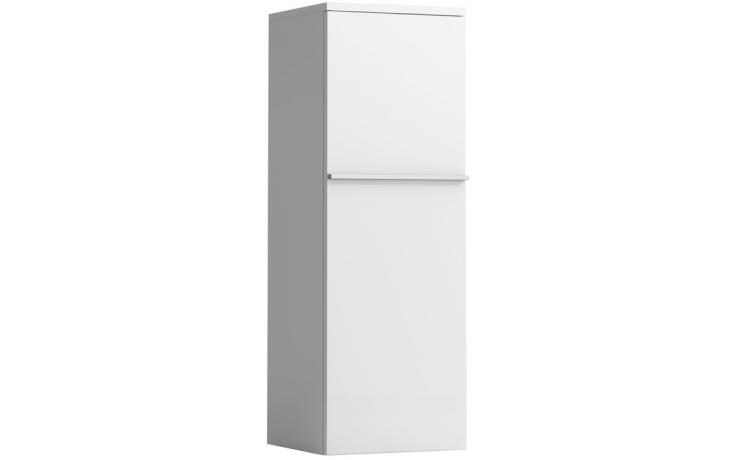 LAUFEN CASE střední skříňka 350x335mm 2 skleněné poličky, závěsy vpravo, bílá