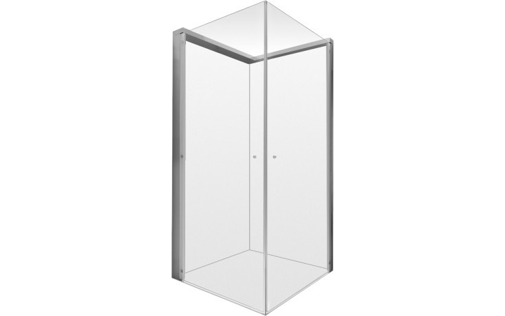 Zástěna sprchová obdelník Duravit sklo OpenSpace 985x985 mm čiré sklo