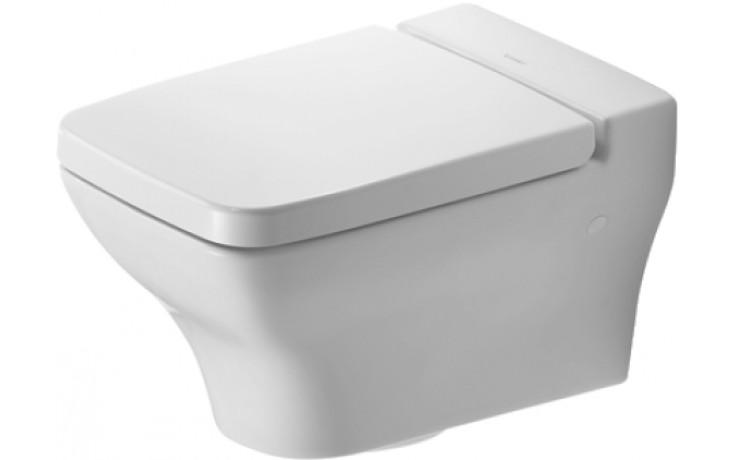 WC závěsné Duravit odpad vodorovný Pura Vida 36x54,5 cm bílé