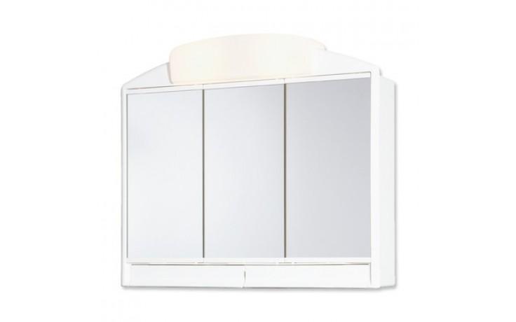 Nábytek zrcadlová skříňka Jokey Rano 59x51x16 cm bílá