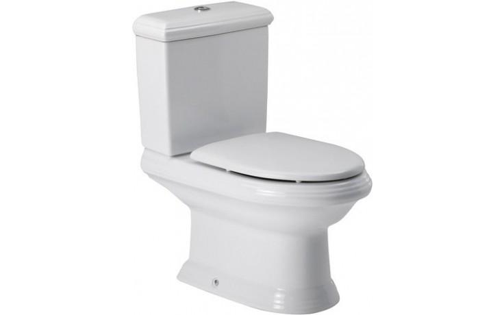 ROCA AMERICA WC mísa kombi 395x775mm hluboké splachování, vario odpad, bílá