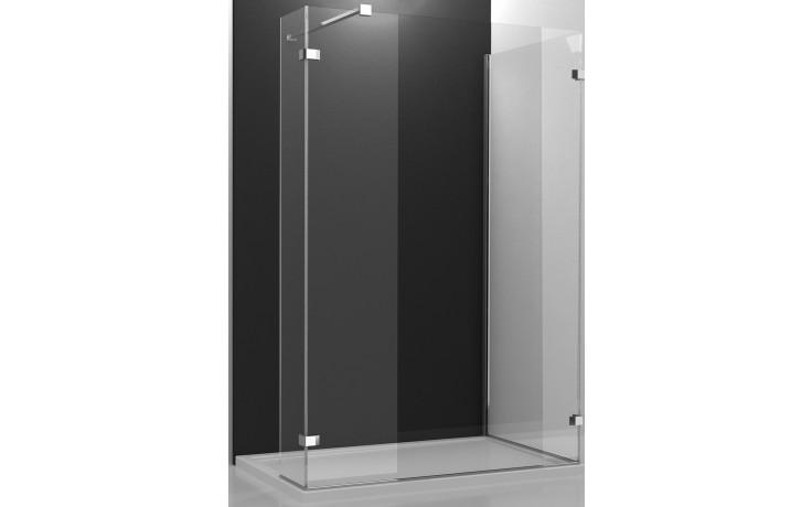 ROLTECHNIK WALK IN LINE WALK B/1000/1000 sprchový kout 1000x1000x2000mm, bezrámový, brillant/transparent