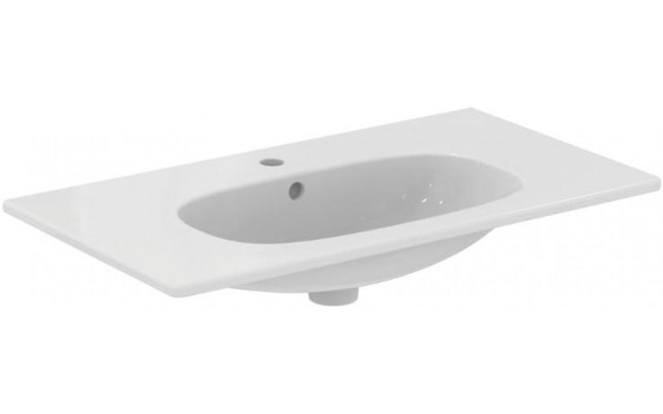 IDEAL STANDARD TESI umyvadlo 825x450x165mm, nábytkové, 1 otvor, bílá
