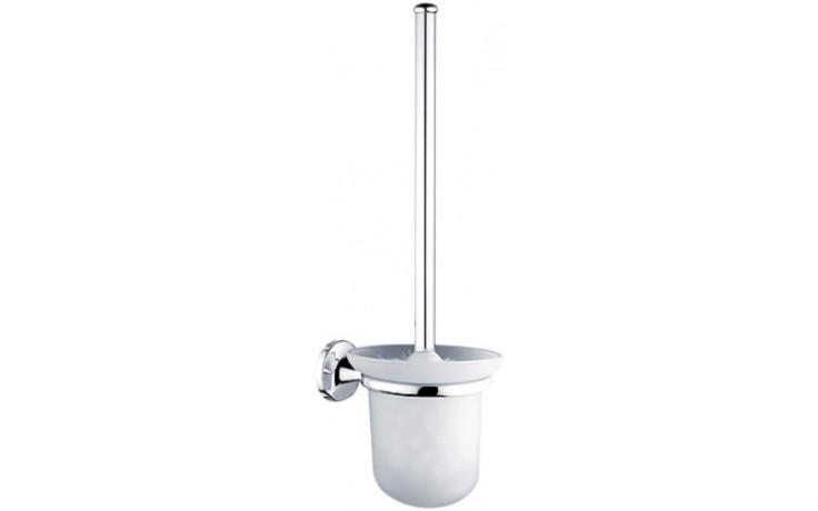 NIMCO MONOLIT toaletní WC kartáč 120x145x380mm chrom MO 4094C-26