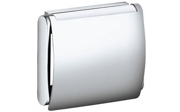 KEUCO PLAN držák toaletního papíru s krytem 133x110mm, chrom