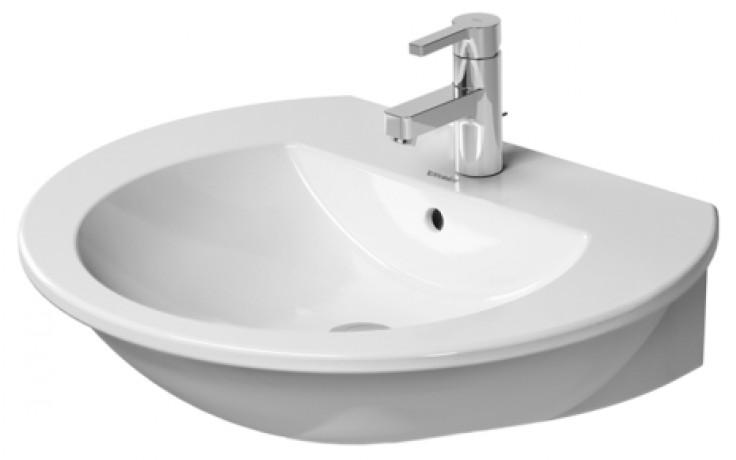 Umyvadlo speciální Duravit - Darling New 65 cm bílá