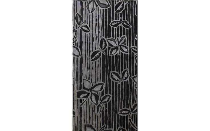 IMOLA ANDRA dekor 20x40cm black, SARY N1