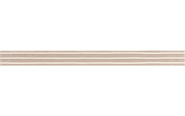 RAKO SENSO listela 60x4,5cm béžová WLASZ030