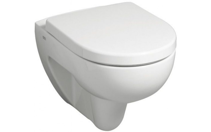 KERAMAG RENOVA NR.1 klozet závěsný 35,5x54cm s hlubokým splachováním, bez splachovacího kruhu Rimfree, bílá 203050000